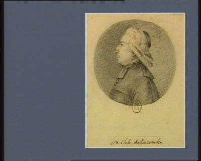 M. l'ab. de La Combre [dessin]