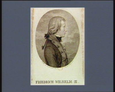 Friedrich Wilhelm III [estampe]