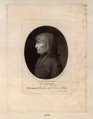 Bonaparte Général en chef de l'armée d'Italie [estampe]
