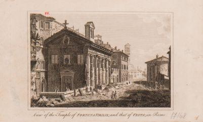 Foro Boario, veduta dei templi della Fortuna e Vesta e della piazza antistante