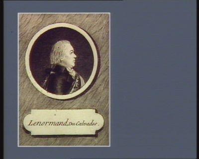 Lenormand, du Calvados [estampe]