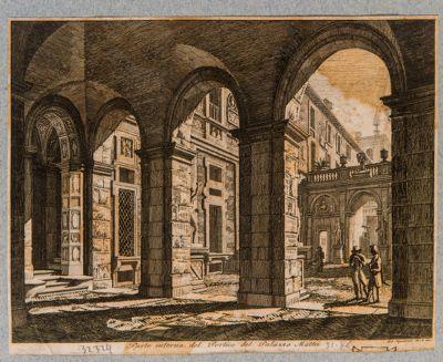 Palazzo Mattei, cortile