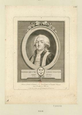 Trophim. Ger.d c.te de Lally-Tolendal député de Paris, né à Paris le 5 mars 1751 : [estampe]