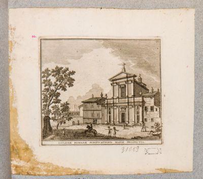 Chiesa di S. Maria della Purità, prospetto