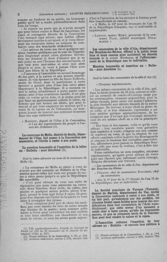 Tome 79 : Du 11 au 23 novembre 1793 - page 2