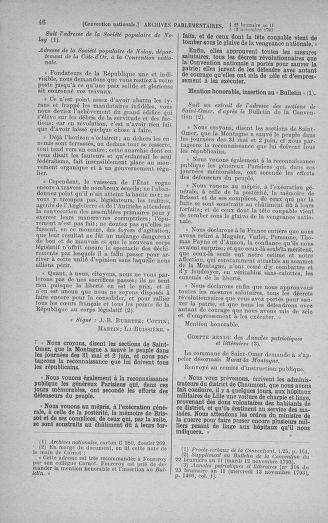 Tome 79 : Du 11 au 23 novembre 1793 - page 46