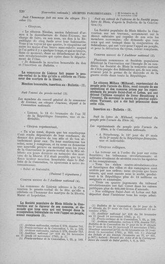 Tome 79 : Du 11 au 23 novembre 1793 - page 120