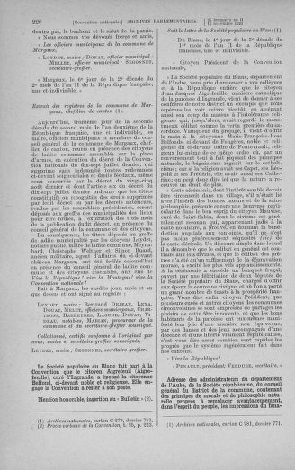Tome 79 : Du 11 au 23 novembre 1793 - page 228
