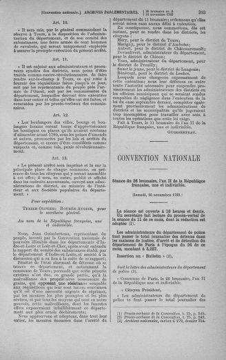 Tome 79 : Du 11 au 23 novembre 1793 - page 303