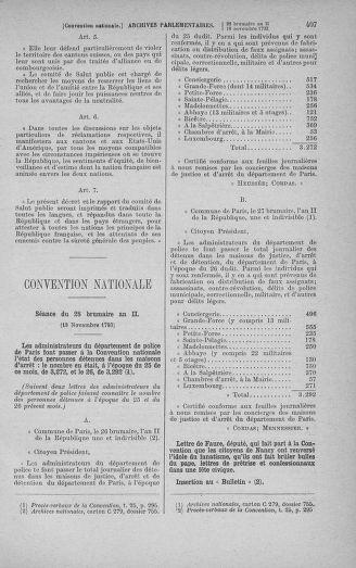 Tome 79 : Du 11 au 23 novembre 1793 - page 407