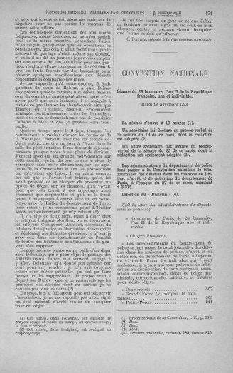 Tome 79 : Du 11 au 23 novembre 1793 - page 471