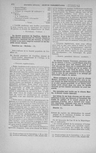 Tome 79 : Du 11 au 23 novembre 1793 - page 472