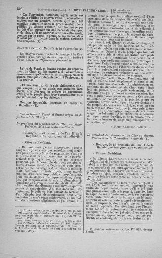 Tome 79 : Du 11 au 23 novembre 1793 - page 526