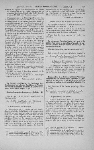 Tome 79 : Du 11 au 23 novembre 1793 - page 559