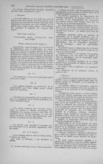 Tome 79 : Du 11 au 23 novembre 1793 - page 664