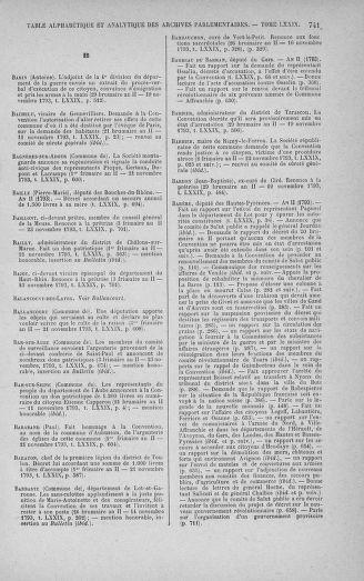 Tome 79 : Du 11 au 23 novembre 1793 - page 741