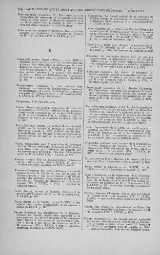 Tome 79 : Du 11 au 23 novembre 1793 - page 764