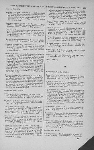 Tome 79 : Du 11 au 23 novembre 1793 - page 769
