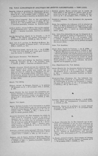 Tome 79 : Du 11 au 23 novembre 1793 - page 772