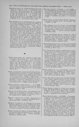 Tome 79 : Du 11 au 23 novembre 1793 - page 778