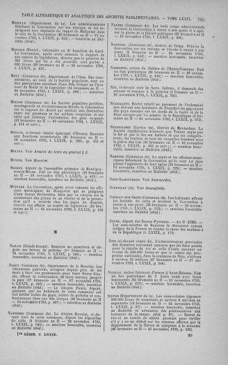 Tome 79 : Du 11 au 23 novembre 1793 - page 785
