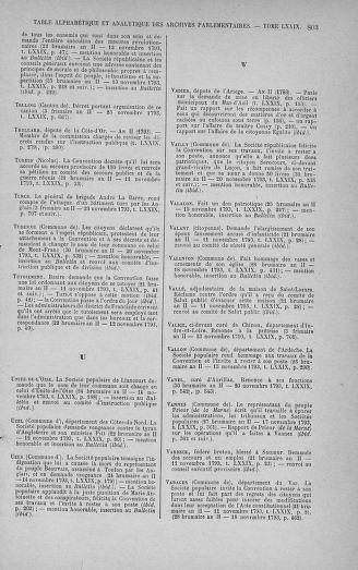 Tome 79 : Du 11 au 23 novembre 1793 - page 803