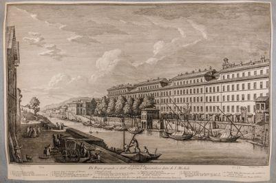 Porto di Ripa Grande e ospizio di S. Michele