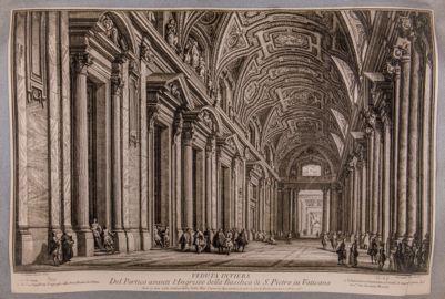 S. Pietro in Vaticano. Portico, interno