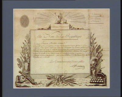 Liberté égalité au nom de la République... : [estampe]