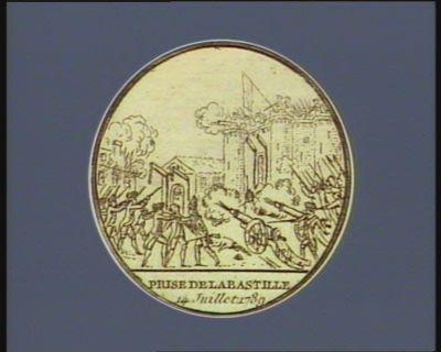 Prise de la Bastille 14 juillet 1789 : [estampe]