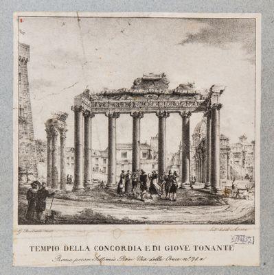 Tempio di Saturno e tempio di Vespasiano