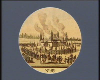 N.o 56 20 7.bre. Pompe funèbre a Paris en l'honneur des soldats citoyens... : [estampe]