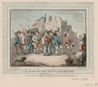 La  Marche des petits patriotes [estampe]
