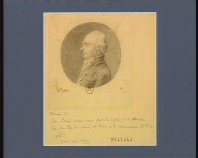 Jean Louis Carra né à Pont de Veyle le 11 mars 1742 dép. du dép. de Saône-et-Loire. à la Convention nat.ale de 1792 : [dessin]