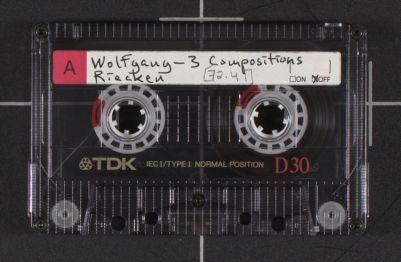 Wolfgang - 3 Compositions, Riechen