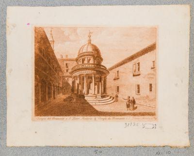 Chiesa di S. Pietro in Montorio, tempietto del Bramante