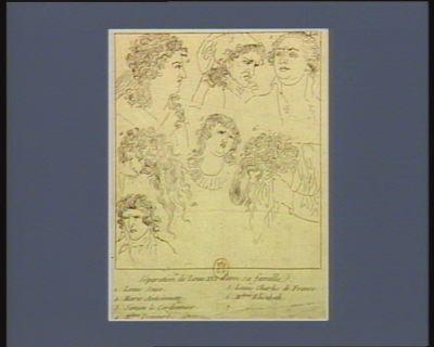 Séparation de Louis XVI d'avec sa famille [estampe]