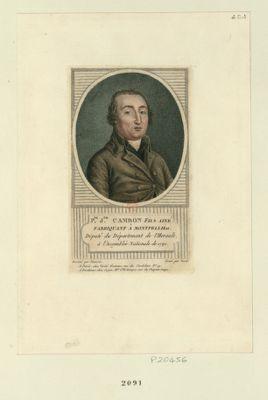 P.pe J.ph Cambon fils ainé fabricant à Montpellier, député du département de l'Herault, à l'Assemblée nationale de 1791. : [estampe]