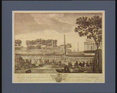 Dediée au generalissime de la confederation des departmens du Nord, du Pas de Calais et de la Somme ; qui a eu lieu à Lille le 6 juin 1790 [estampe]