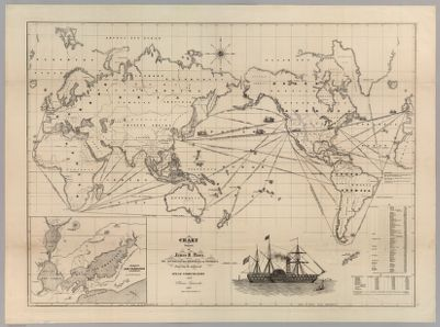 Cleartype general map of the World on Mercators projection