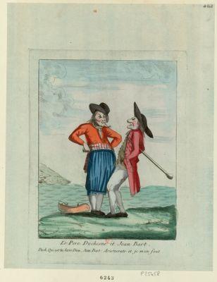 Le  Pere Duchesne et Jean Bart [estampe]