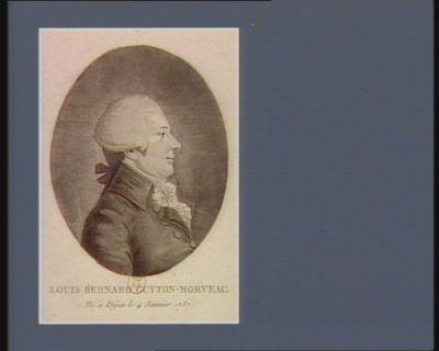 Louis Bernard Guyton-Morveau né à Dijon le 4 janvier 1737 : [estampe]