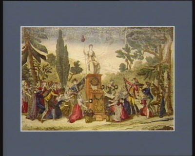 Hommage a la Liberté amour sacré de la patrie conduit soutient nos bras vengeurs... : [estampe]
