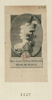 Marie Antoinette archiduchesse d'Autriche Reine de France [estampe]