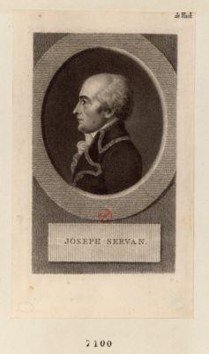 Joseph Servan [estampe]