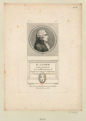M. Latour docteur en médecine né en la ville d'Aspet en 1733 député de Cominges et Nébonsan à l'Assemblée nat.le de 1789 : [estampe]
