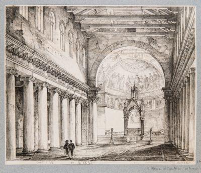 Chiesa di S. Maria in Trastevere. Interno