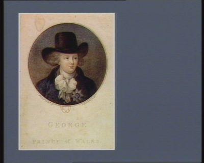 George Prince of Wales [estampe]