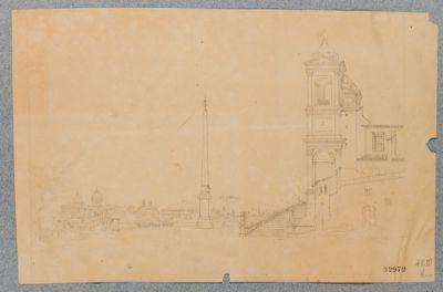 Piazza Trinità de Monti, obelisco Sallustiano