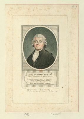 Jean François Biauzat député du départ. du Puy de Dome... : [estampe]